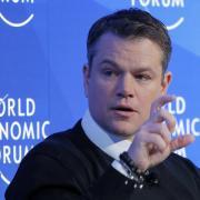 Matt Damon hat sein Kofferproblem nicht aus der Bahn geworfen. Foto: Michel Euler/AP/Archiv