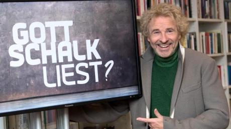 Thomas Gottschalk, Entertainer und Showmaster, wird Gastgeber der neuen Sendung «Gottschalk liest?». Foto: Sven Hoppe