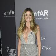 Heidi Klum bei der amfAR-Gala in New York. Foto: Evan Agostini/Invision/AP