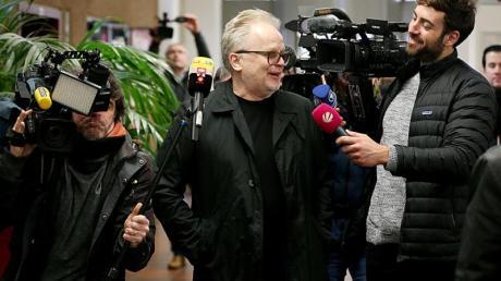 Herbert Grönemeyer kommt ins Landgericht. Foto: Oliver Berg