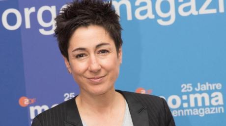 Die Moderatorin Dunja Hayali anlässlich des 25. Geburtstags des ZDF-Morgenmagazins 2017. Sie sei «dialogbereit, nicht nur hier», sagt Hayali nach dem Zwischenfall in der Livesendung.