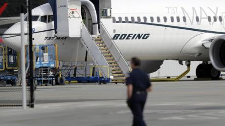 Eine Boeing 737 MAX 8. Foto: Ted S. Warren/AP