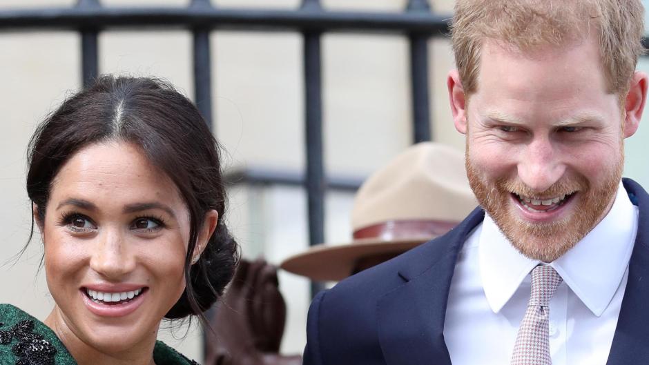Royals Harry Und Meghan Ist Baby Sussex Etwa Schon Da Promis