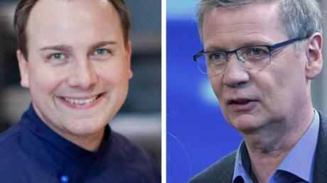 Tim Raue und Moderator Günther Jauch eröffnen in der Potsdamer Villa Kellermann am Heiligen See ein Restaurant.
