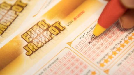 Ein Mann aus Oberfranken hat 19 Millionen Euro im Eurojackpot gewonnen.