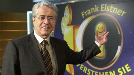 Frank Elstner ist nach eigenen Angaben an Parkinson erkrankt.