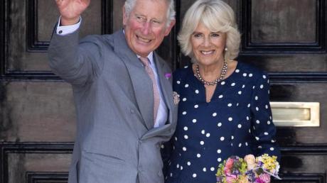 Der britische Prinz Charles und seine Frau Camilla, Herzogin von Cornwall, haben sich in Deutschland angesagt. Foto: Will Oliver/EPA/Keystone