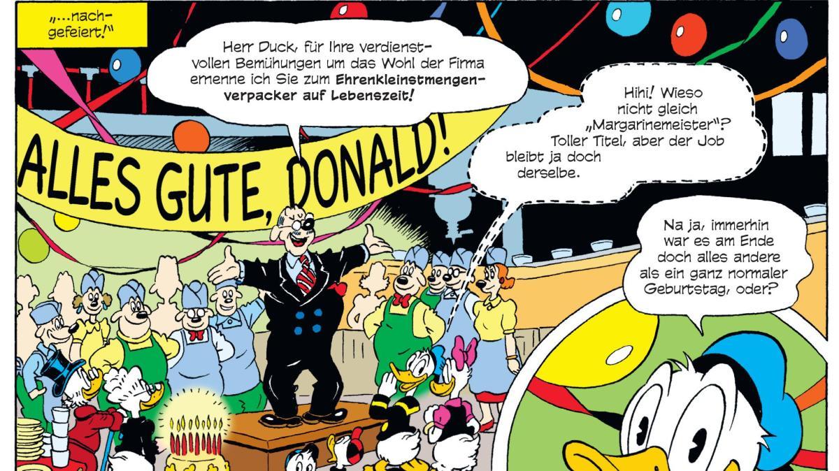 85 Jahre Donald Duck Die Ente In Uns Allen Donald Duck Hat