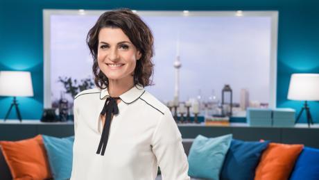 """Die Moderatorin Marlene Lufen moderiert gemeinsam mit Jochen Schropp """"Promi Big Brother"""" 2021."""