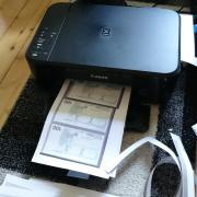 Falschgeld ausgedruckt