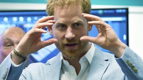 Prinz Harry möchte noch ein Kind in die Welt setzen. Foto: Jacob King/PA