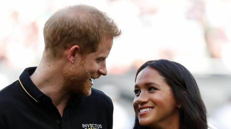 Der britische Prinz Harry und seine Frau, Herzogin Meghan. Foto: Peter Nicholls