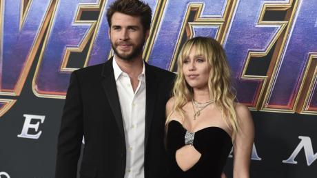 Kein böses Wort nach der Trennung: Liam Hemsworth und Miley Cyrus.