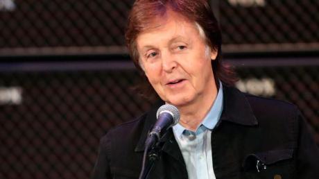 Paul McCartney verwöhnt gerne seine Enkelkinder. Foto: Richard Wainwright/AAP