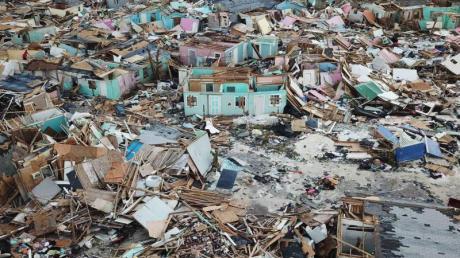 Nichts mehr zu retten:Hurrikan «Dorian» hat auf den Bahamas enorme Verwüstungen hinterlassen. Foto: Gonzalo Gaudenzi/AP