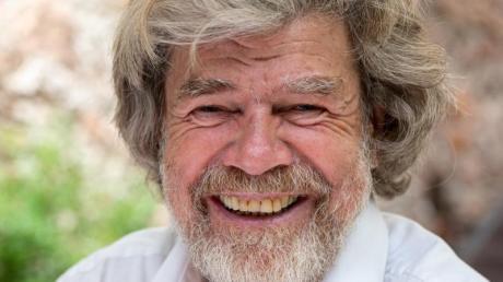 Der ehemalige Extrembergsteiger Reinhold Messner feiert am Dienstag seinen 75. Geburtstag.