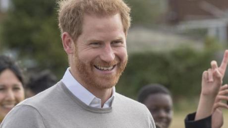 Eine Gratulation für Prinz Harry. Foto: Arthur Edwards/The Sun/PA