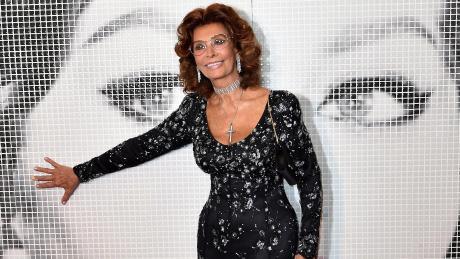 Sophia Loren feiert 85. Geburtstag.