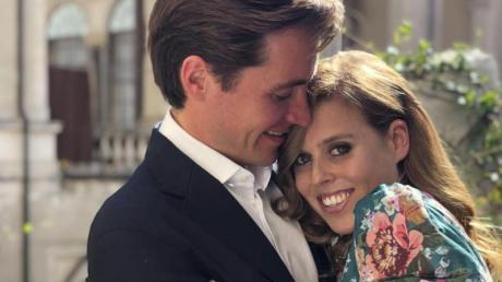 Prinzessin Beatrice und Edoardo Mapelli Mozzi.