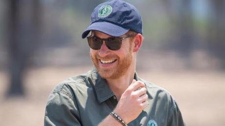 Prinz Harry im Liwonde-Nationalpark. Foto: Dominic Lipinski/PA Wire
