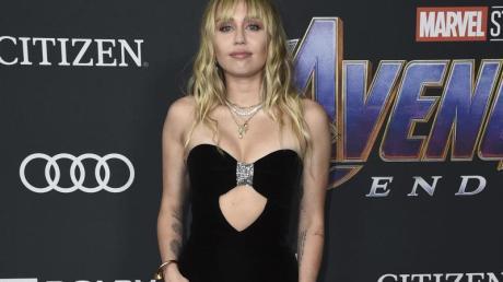 Miley Cyrus bei der Premiere von «Avengers: Endgame» in Los Angeles.