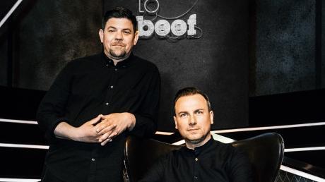 """Heute """"Ready to Beef"""" 2019: Tim Mälzer und Tim Raue im Porträt."""