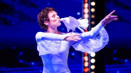 """Am 09.11.19, in Folge 9 gaben die Talente bei """"Das Supertalent"""" alles, um in die nächste Runde zu kommen. Aurélie Brua hat es geschafft."""
