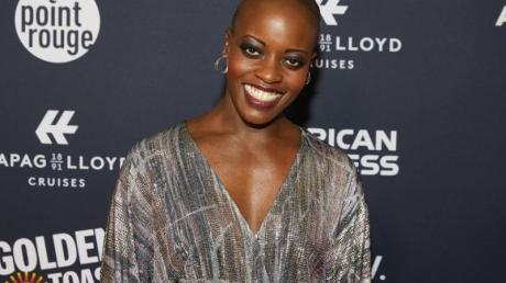 Florence Kasumba bei der Veranstaltung «Movie meets Media» in Hamburg.