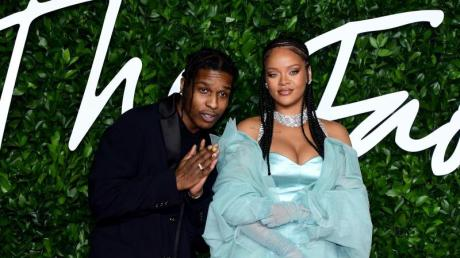 A$AP Rocky und Rihanna bei den British Fashion Awards in London.