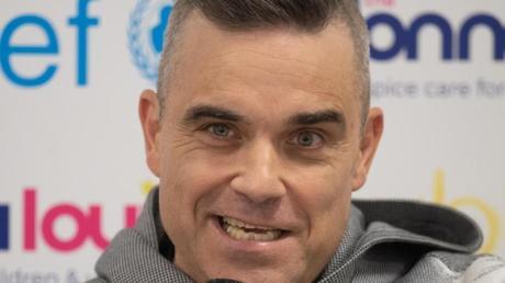 Robbie Williams hält viel von der deutschen Fußball-Nationalmannschaft.