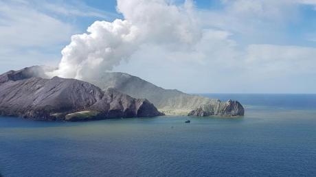Rauchender Vulkan auf der White Island: Neuseelands Ureinwohner nennen ihn Whakaari - den «dramatischen Vulkan».