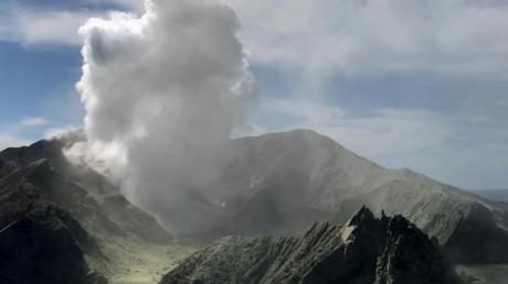 Der Ausbruch des Vulkans auf White Island hat mehrere Menschen das Leben gekostet.