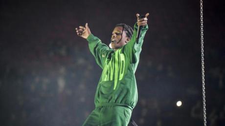Nach Knastaufenthalt: A$AP Rocky hat in Schweden ein erstes Konzert gegeben.