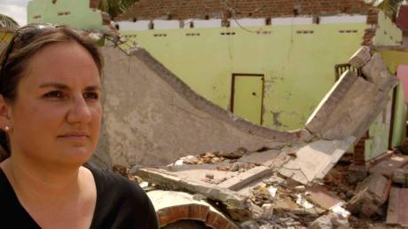 Andrea Kümpfbeck reiste 2004 nach der Tsunami-Katastrophe nach Sri Lanka, um sich vor Ort ein Bild zu machen.