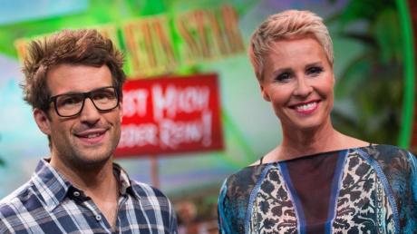 """Sonja Zietlow und Daniel Hartwig moderieren die RTL-Dschungel-Show """"Ich bin ein Star - holt mich hier raus!"""""""
