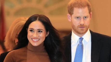 Prinz Harry und Herzogin Meghan wollen sich weitgehend zurückziehen.