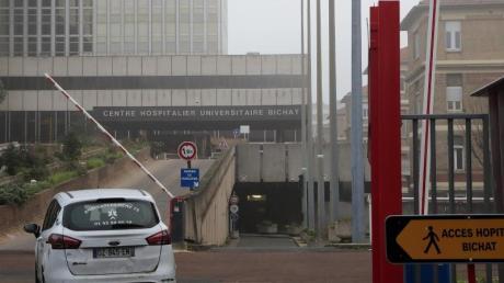 Krankenhaus Bichat in Paris: Als erstes Land in Europa meldete Frankreich drei Patienten mit dem neuen Virus.