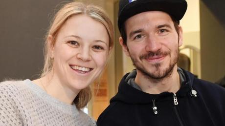 Die ehemaligen Wintersportler Miriam und Felix Neureuther haben Nachwuchs bekommen.