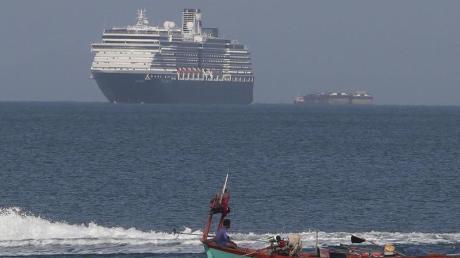 Das Kreuzfahrtschiff «Westerdam» durfte in Kambodscha im Hafen vonSihanoukville anlegen.