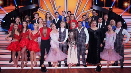 """""""Let's Dance"""" 2020 am 28.2.20 mit Folge 1. Die Promis wollten die Zuschauer mit ihren Tänzen begeistern."""