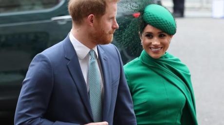 Prinz Harry und seine Frau Herzogin Meghan beim Commonwealth-Tag.