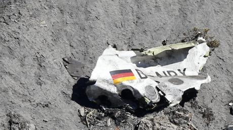 Die Trümmer des Airbus A320 lagen in unwegsamem Gelände auf vier Hektar Fläche verstreut.