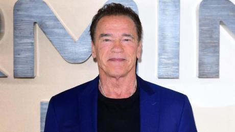 Arnold Schwarzenegger dreht Filme mit seinen tierischen Mitbewohnern.