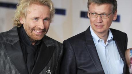 Thomas Gottschalk und Günther Jauch haben gerne an dem TV-Experiment teilgenommen.