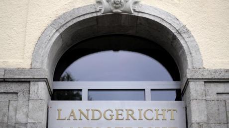 Der Eingang des Landgerichtes in Hagen.
