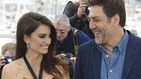 Penélope Cruz (l) und Javier Bardem bei den Filmfestspielen in Cannes 2018.