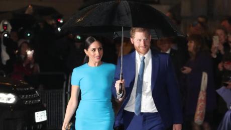 Von April an verzichten Prinz Harry und Herzogin Meghan auf die Anrede «Königliche Hoheit».
