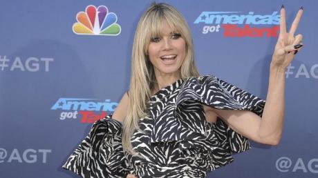Heidi Klum bei der Präsentation der amerikanischen Talentshow «America's Got Talent».