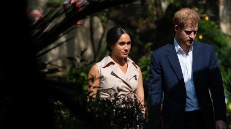 """Prinz Harry und Herzogin Meghan gehen gegen die Boulevardzeitung """"Mail on Sunday"""" juristisch vor."""