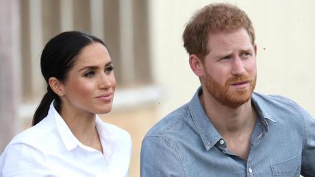 Setzen gegen Diskriminierung und Rassismus ein: Herzogin Meghan und ihr Mann Prinz Harry.